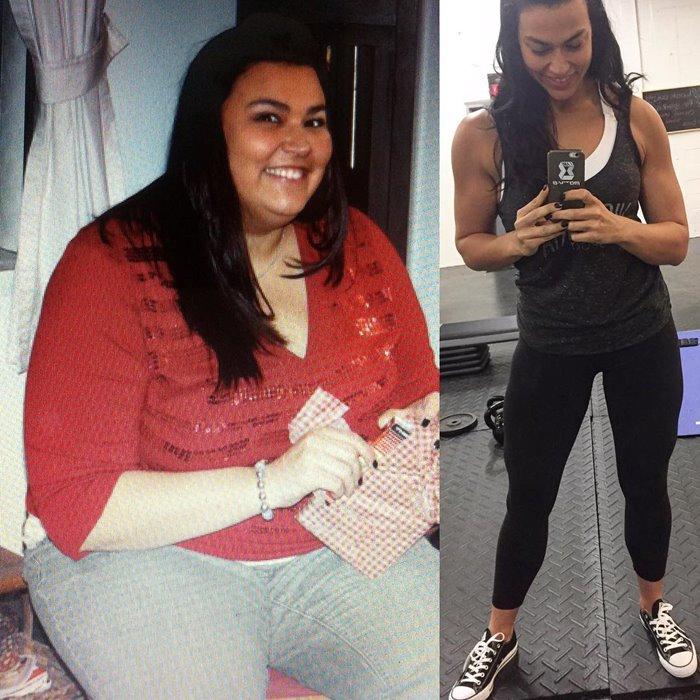фото до и после сильного похудения