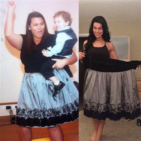 реальные истории похудения фото до и после в одежде