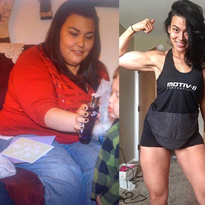 фото до и после похудения Эрики Лаго