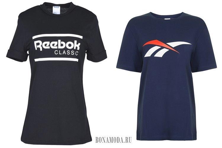 спортивные длинные футболки