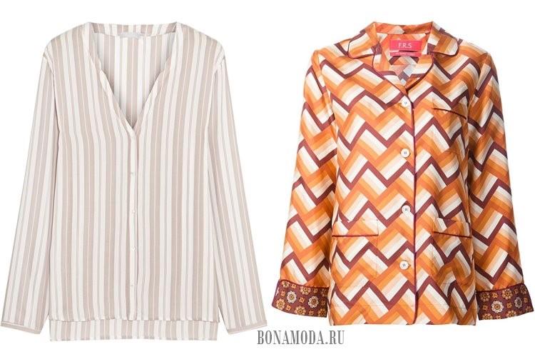 пижамные женские рубашки 2017
