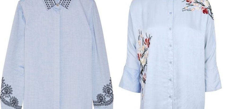 Модные женские рубашки 2017
