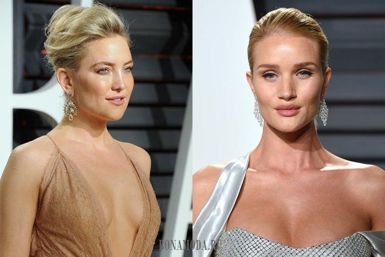 Блондинки и естественный макияж: Кейт Хадсон и Рози Хантингтон-Уайтли