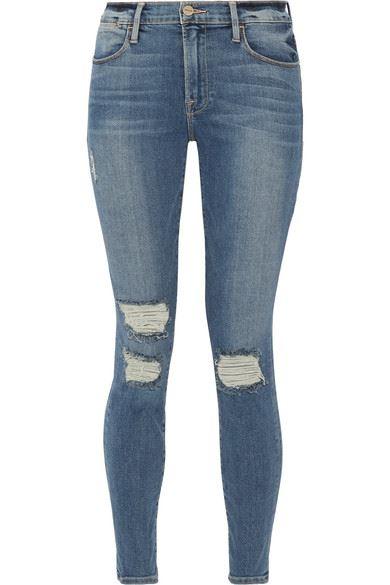 рваные джинсы скинни