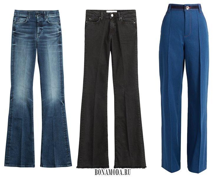 Модные женские джинсы 2017: со стрелками