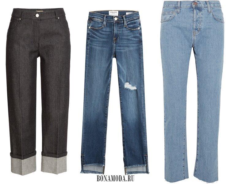 Модные женские джинсы 2017: стиль классика
