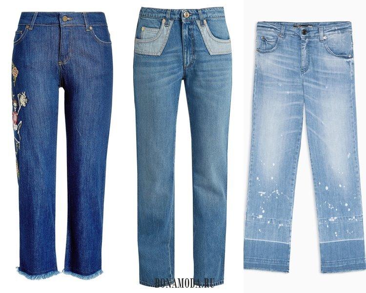 Модные женские джинсы 2017: прямые