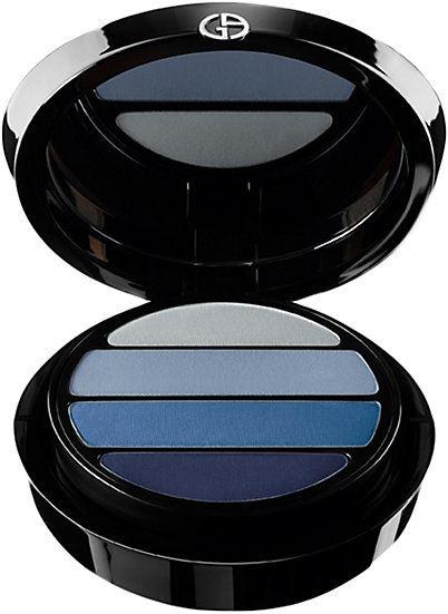 Цвета теней для голубых глаз: компактные матовые серые и голубые