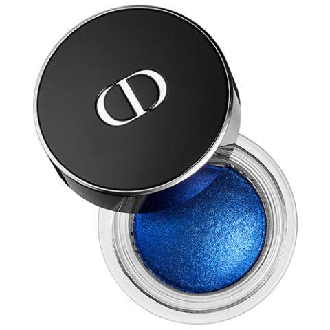 Цвета теней для голубых глаз: кремовые глянцевые электрического синего оттенка
