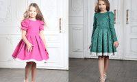 Дочь певицы МакSим в платьях Alisia Fiori