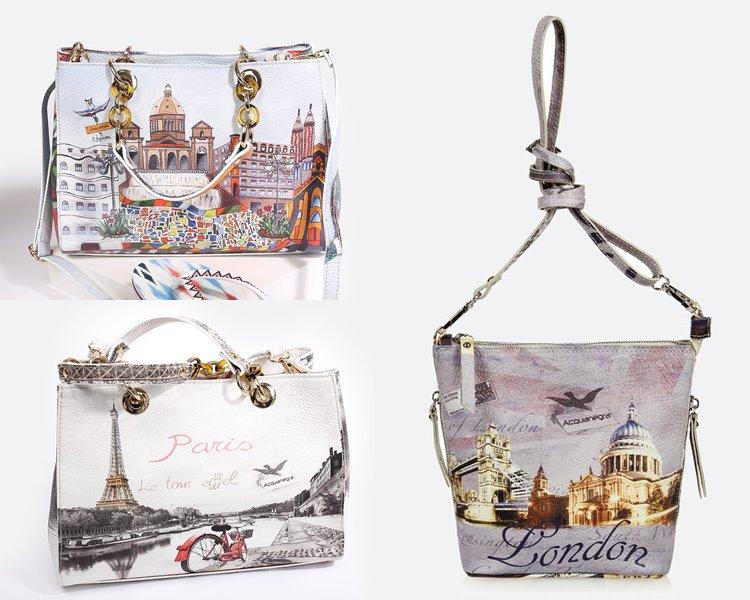 b8e7e8ada4c1 Также бренд представил новые модели классических сумок и рюкзаков из своей  знаменитой коллекции с принтами, изображающими города мира — на этот раз  это ...