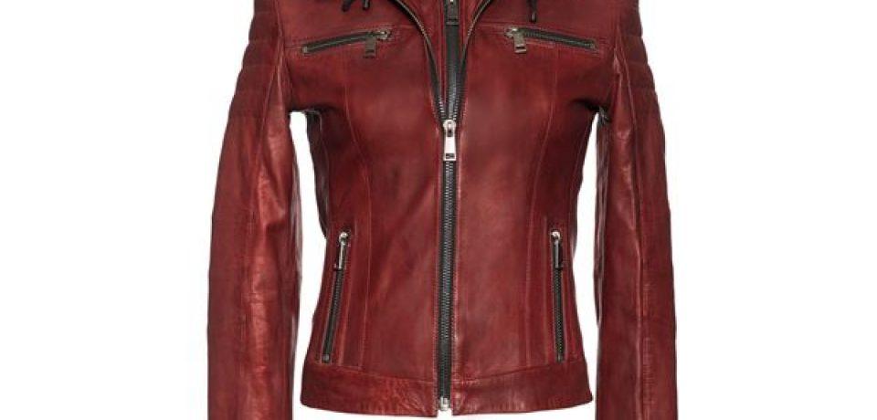 Кожаные куртки Deri&Mod весна-лето 2017