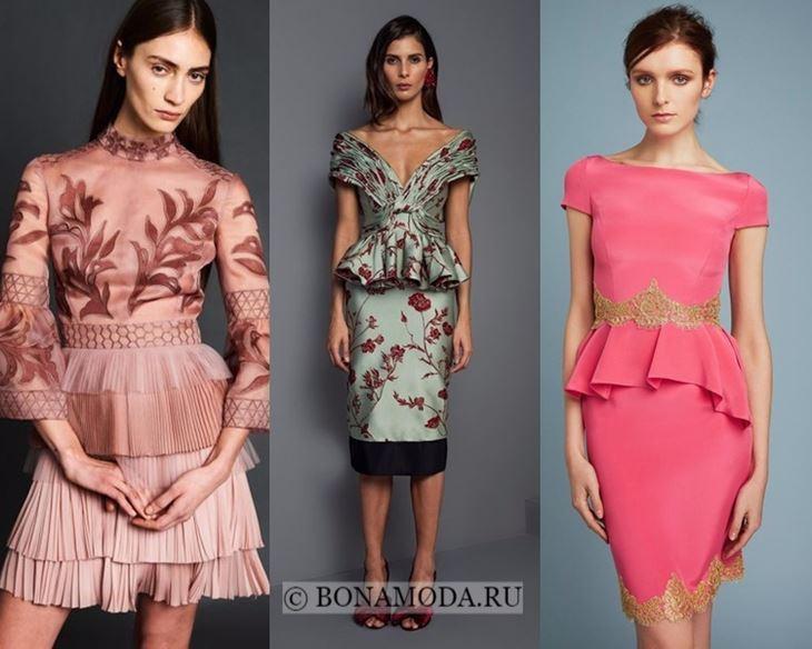 Модные платья 2018 фасон тенденции