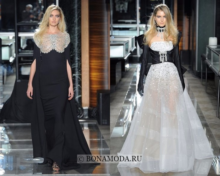 Свадебные платья черные весна-лето 2018