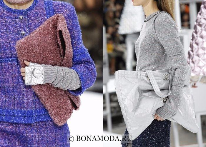 Модные женские сумки осень-зима 2017-2018: мягкие одеяла