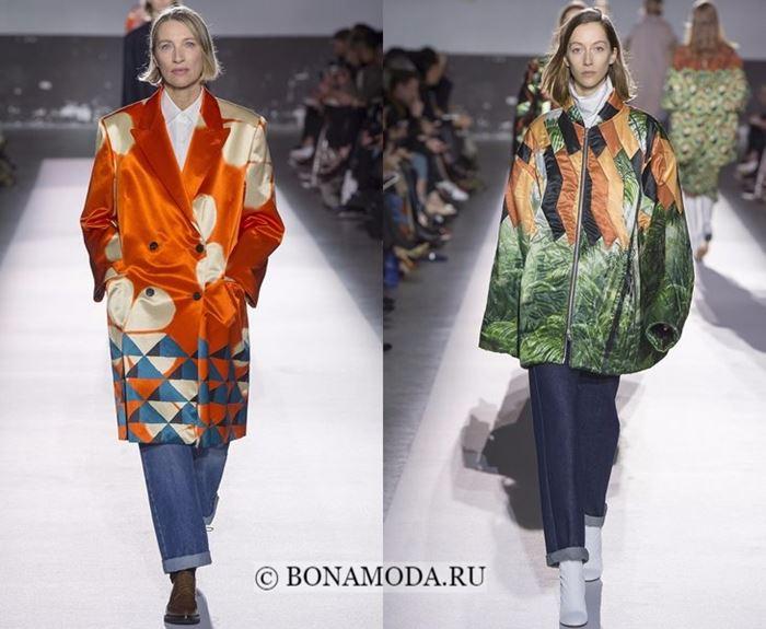 Тенденции моды осень-зима 2017-2018: пальто и куртки одеяла