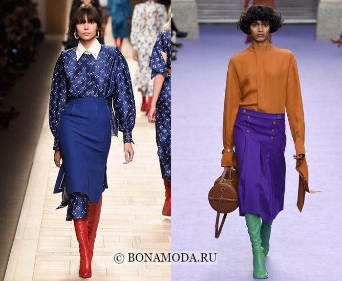 Тенденции моды осень-зима 2017-2018: яркий деловой стиль