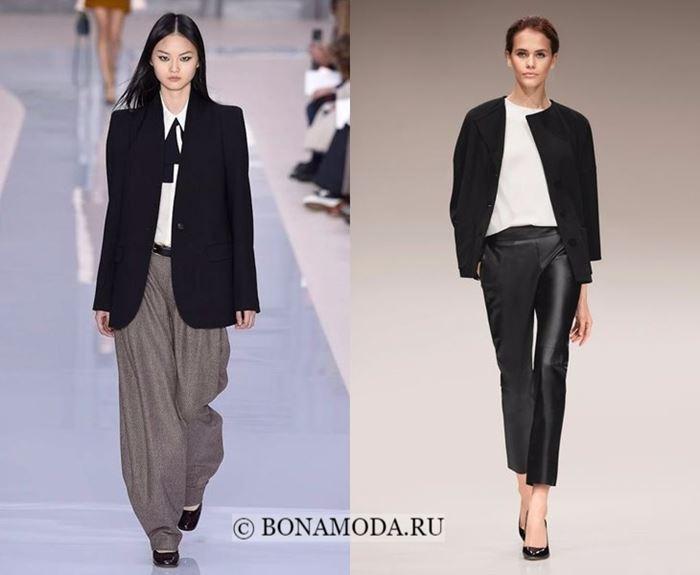 Тенденции моды осень-зима 2017-2018: брючный деловой стиль