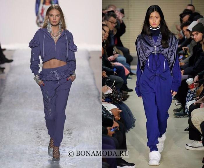 Тенденции моды осень-зима 2017-2018: спортивный костюм