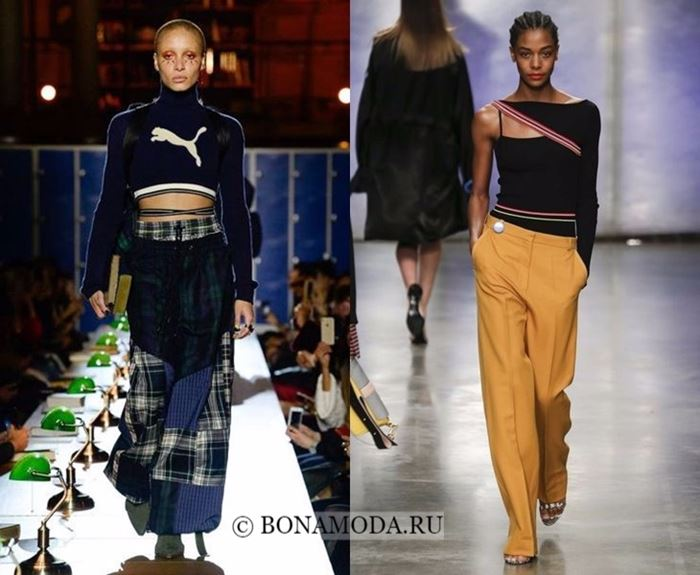 Тенденции моды осень-зима 2017-2018: спортивный стиль кэжуал