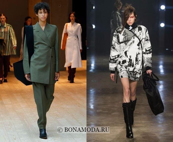 Тенденции моды осень-зима 2017-2018: объёмные плечи