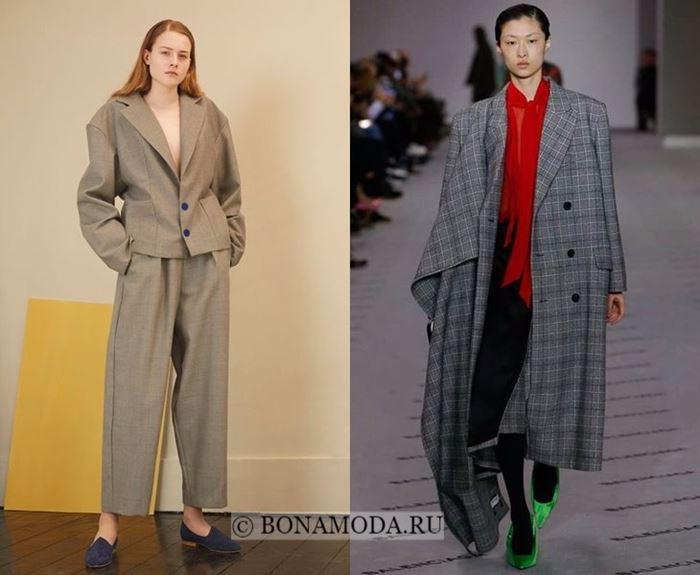 Тенденции моды осень-зима 2017-2018: объёмный оверсайз