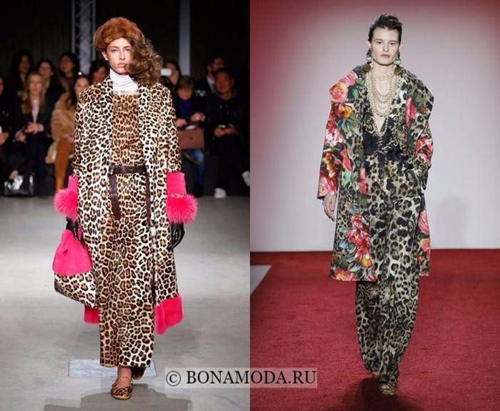 Тенденции моды осень-зима 2017-2018: леопардовые наряды