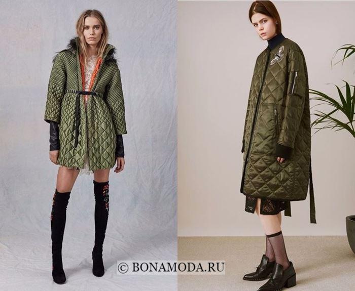 Тенденции моды осень-зима 2017-2018: стёганые пальто
