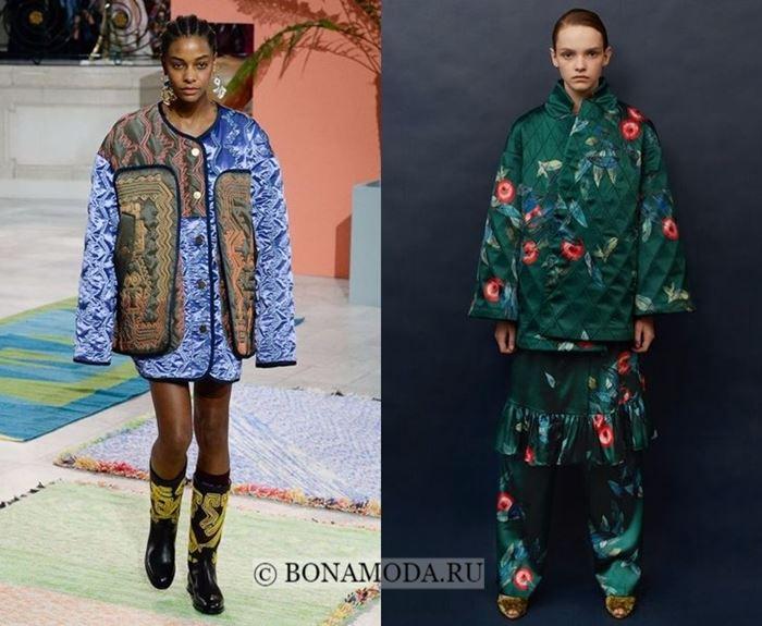 Тенденции моды осень-зима 2017-2018: стёганая одежда