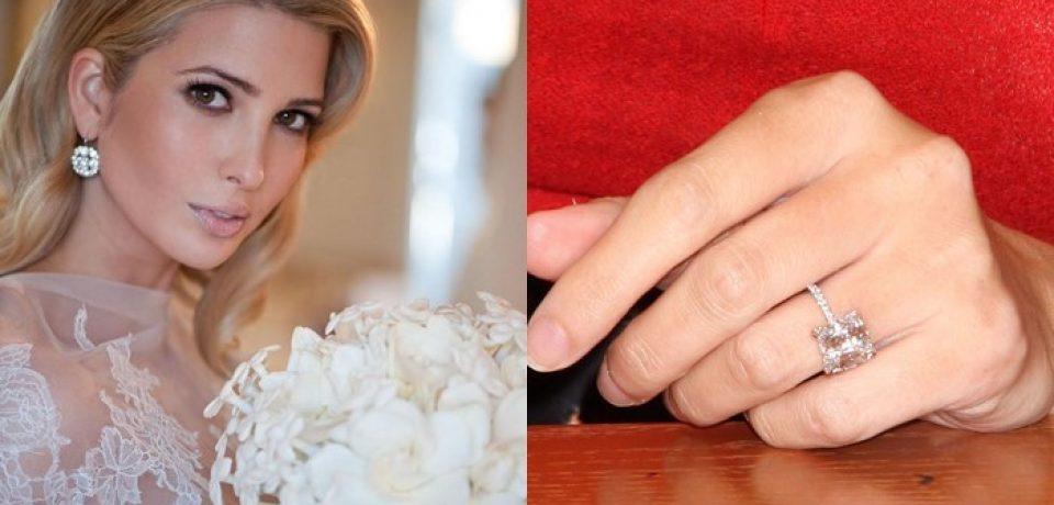 Помолвочные кольца огранки кушон: цветные камни и ювелирная классика