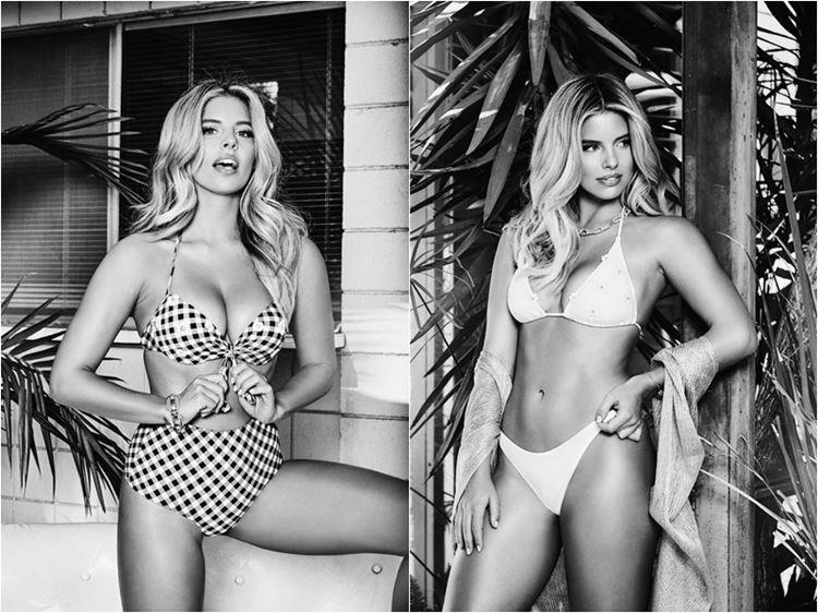 Рекламная кампания купальников Guess х A Bikini A Day весна-лето 2017 - фото 1