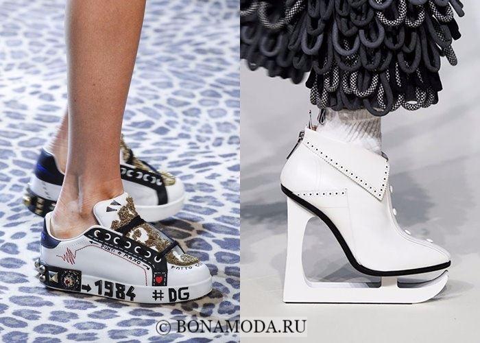 Модная женская обувь осень-зима 2017-2018: спортивные ботинки