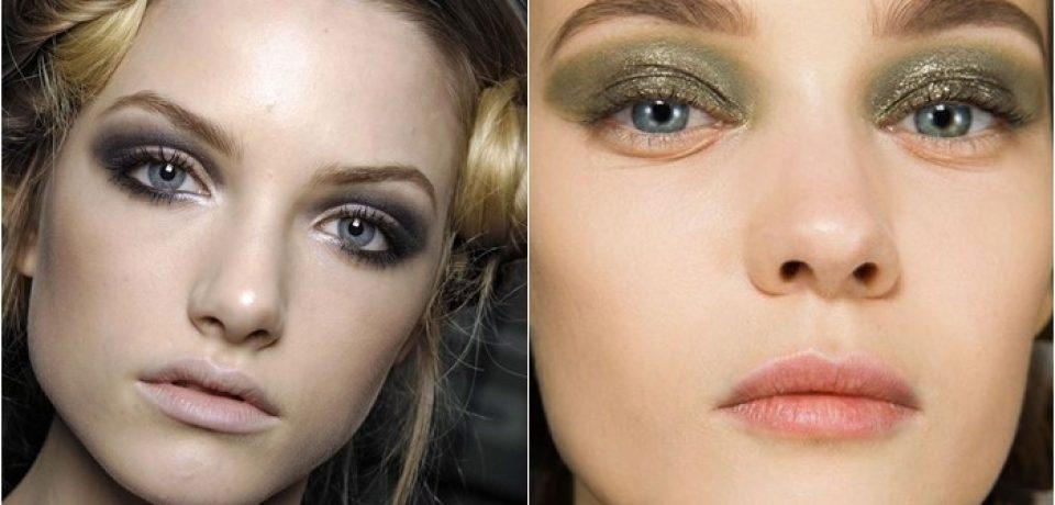 Цвета теней для серых глаз: макияж знаменитостей