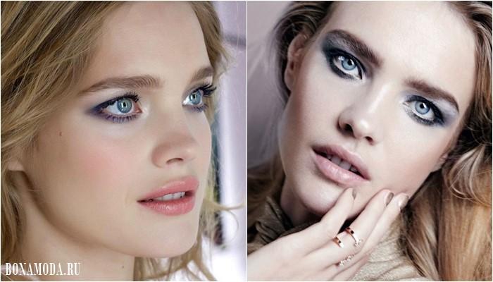 Цвета теней для серых глаз: макияж Натальи Водяновой