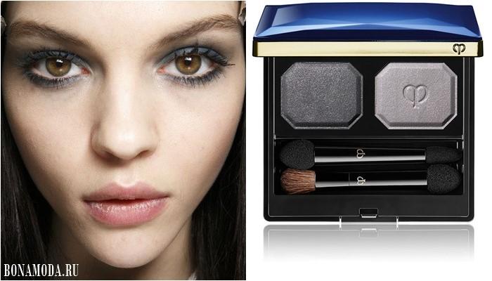 Цвет теней для карих глаз: оттенки серого для дымчатого макияжа
