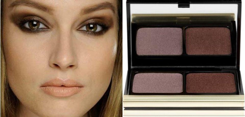 Цвет теней для карих глаз: макияж знаменитостей