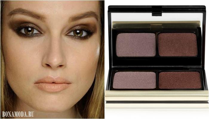 Цвет теней для карих глаз: оттенки коричневого и бежевого для дымчатого макияжа
