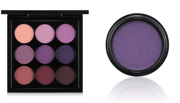 Цвета теней для серых глаз: матовые оттенки сиреневого и фиолетового