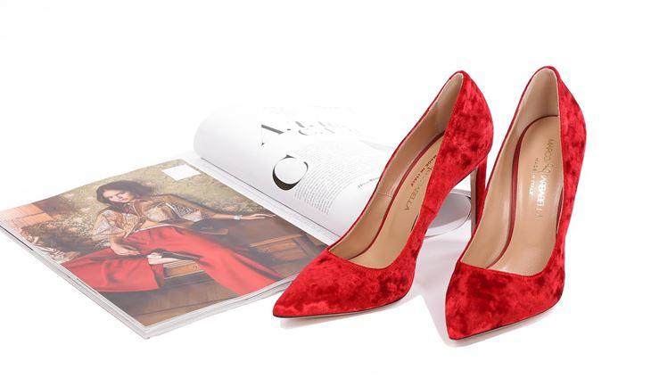 Бархатные туфли Marco Barbabella в магазине Sumochka.com