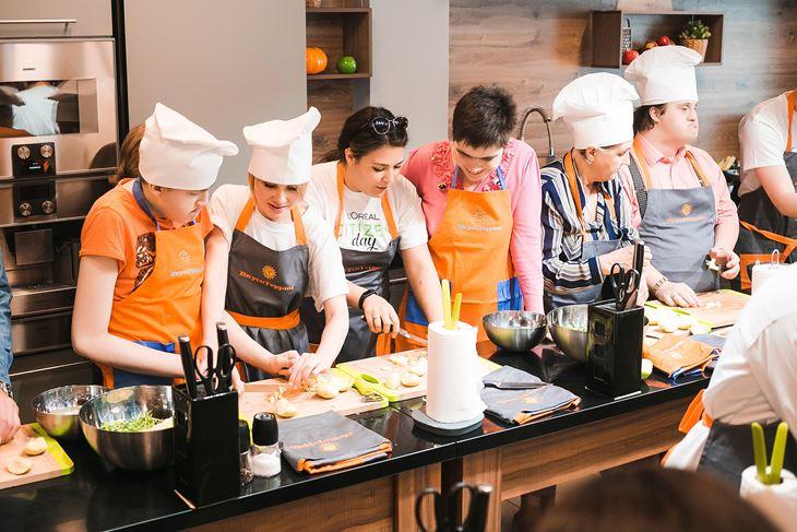 День Социальной Ответственности L'Oréal - кулинарный мастер-класс