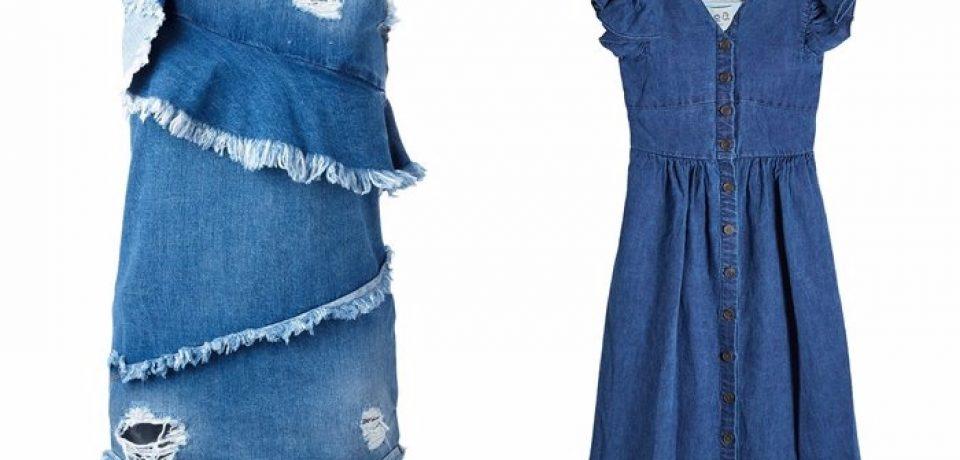 Джинсовые платья 2017-2018