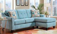 Голубой диван в интерьере: гармония пространства
