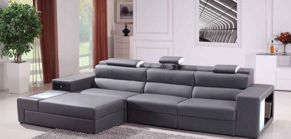 Серый диван в интерьере: стильный минимализм для гостиной
