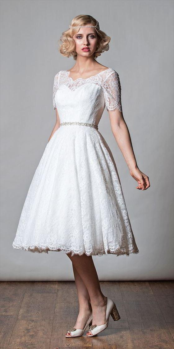 Платье свадебное футляр 60