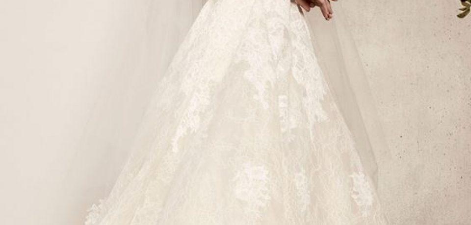 Кружевные свадебные платья 2017-2018