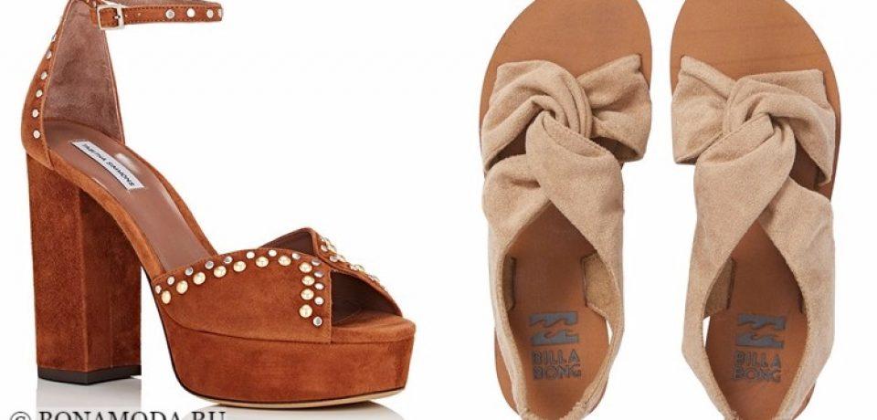 Модные туфли: тенденции 2017-2018