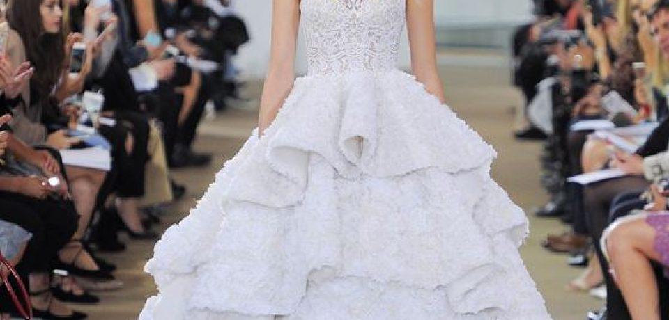 Пышные свадебные платья 2017-2018