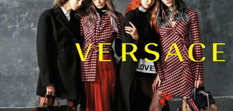 Рекламная кампания Versace осень-зима 2017-2018 от Брюса Вебера