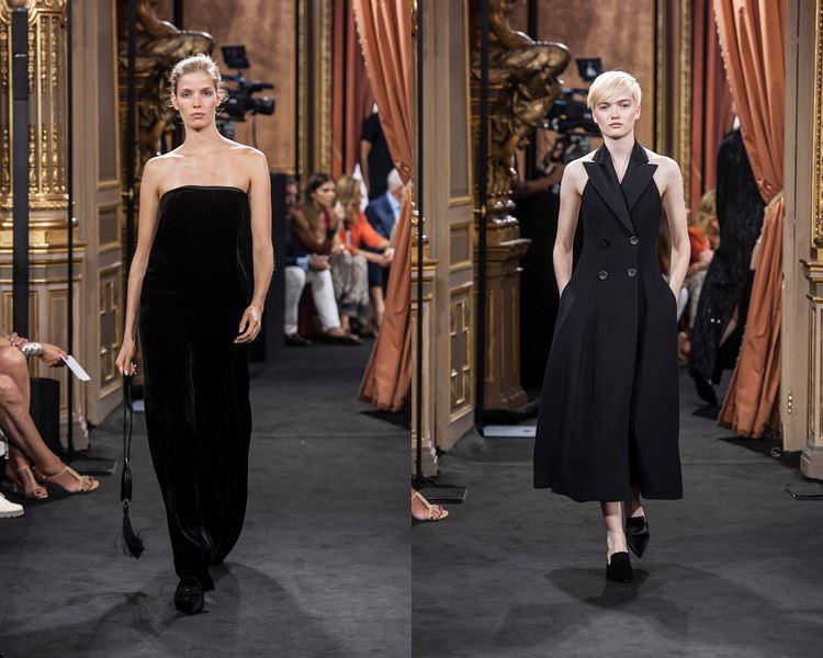 Коллекция Massimo Dutti осень-зима 2017-2018: черные платья