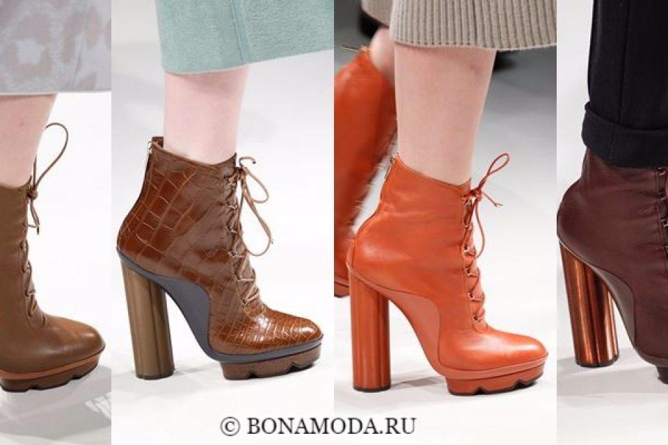 Ботильоны Мода Осень 2017